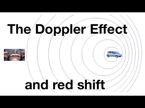 Doppler Effect and red shift for beginners: from fizzics.org