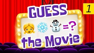 Can You Guess All The Movies? | Emoji Challenge 1 😃