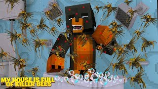 Download Minecraft MY HOUSE IS FULL OF.... KILLER BEES Video