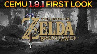 Cemu 1 9 1 | System Update/Open Your Eyes Fix | Zelda BOTW