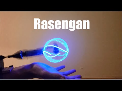 How to Make a Real Rasengan! (Awesome Cosplay Prop)