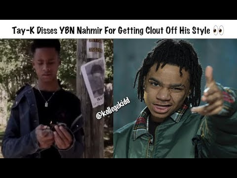 Tay-K Disses YBN Nahmir For Getting Clout Off His Name