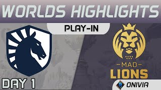 TL vs MAD Highlights Worlds 2020 Play in Team Liquid vs MAD Lions by Onivia
