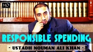 Responsible Spending ᴴᴰ ┇ Must Watch Islamic Reminder ┇ by Ustadh Nouman Ali Khan ┇ TDR Production ┇