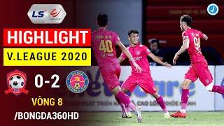 Highlight | Hải Phòng 0-2 Sài Gòn | Vòng 8 V.League 2020