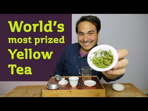 World's Most Prized Yellow Tea