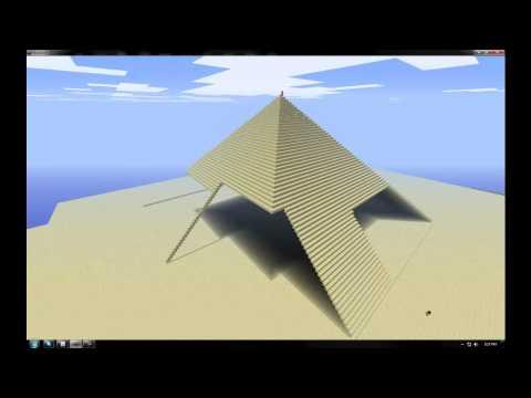 Minecraft Pyramid speed build