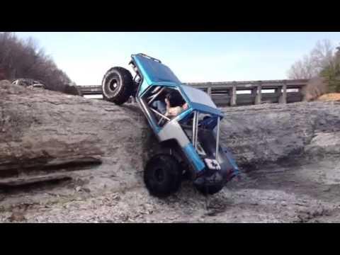 Jeep XJ on Wailing Wall: Disney Oklahoma | Younto.com