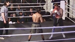 KENNY KO VS JOSH GIBSON FULL BOXING MATCH