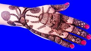 Beautiful Mehndi Design For Back Hands | Henna Designs For Beginners #34 @ jaipurthepinkcity
