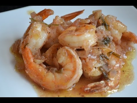 Home made (better than) Red Lobster Shrimp Scampi