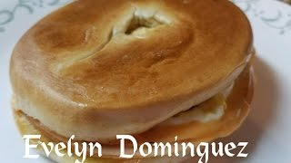 Egg,cheese Ham Bagel Toasted (english Version)
