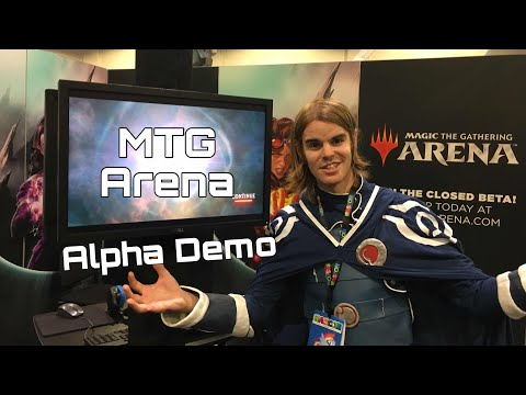 A First Look At Magic The Gathering Arena (Alpha Demo @ HasCon)