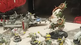 After action report Space Wolves Death Guard