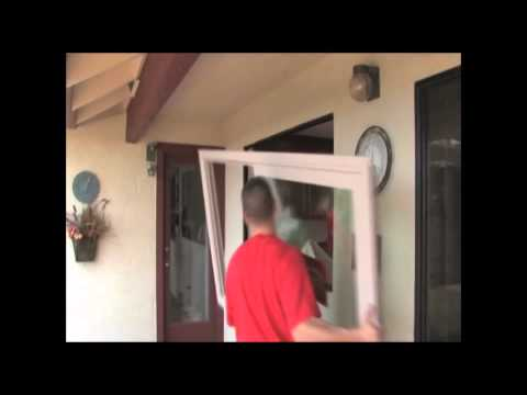 How to Install Milgard Retrofit Z Bar Windows