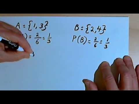 Probability of Mutually Exclusive and Non-Mutually Exclusive Events 128-1.3