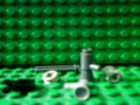 How to build a Lego minigun