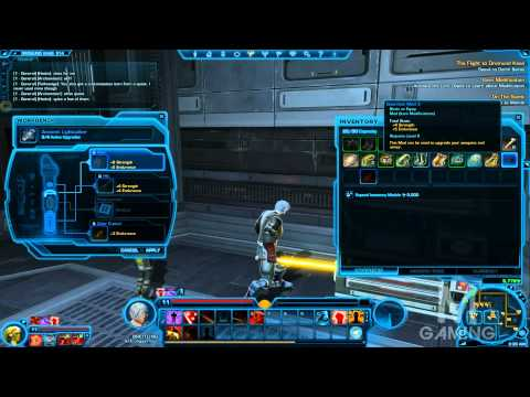 SWTOR: HOW TO MODIFY YOUR LIGHTSABER STATS AND COLOR
