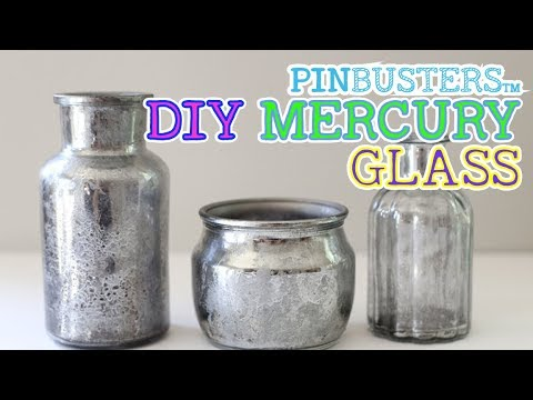 How To Make DIY Mercury Glass // DOES IT REALLY WORK?