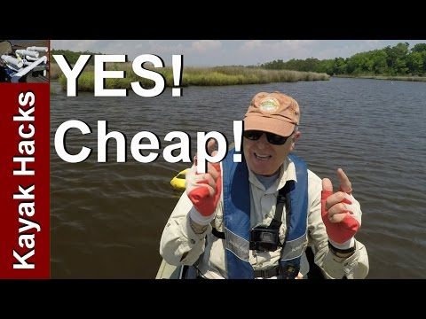 Kayak Fishing LIve Well for Bait - less than $15