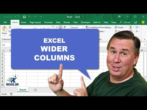 Learn Excel - Column Wider: Podcast #1397