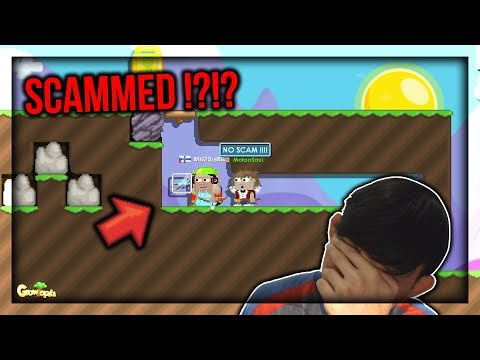 SCAMMED !?!? INVISIBLE BLOCK PRANK PAKE DIAMOND DRAGON !! - Growtopia Indonesia