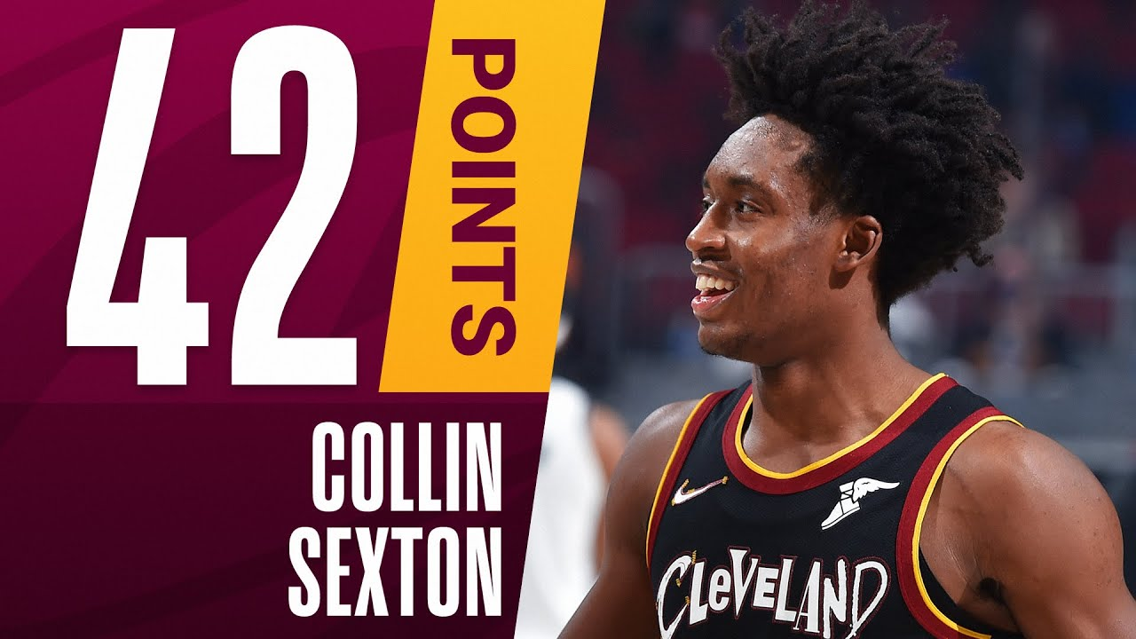 Collin Sexton Scores Career-High 42 PTS With 20 Straight PTS In OT & 2OT To Lift Cavaliers!