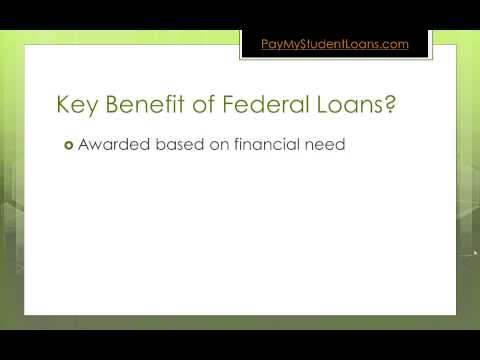 The Main Reason Why Federal Student Loans Are The Right Choice For You