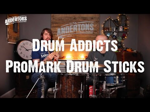 Drum Addicts - How Different Sticks Sound & Feel Different