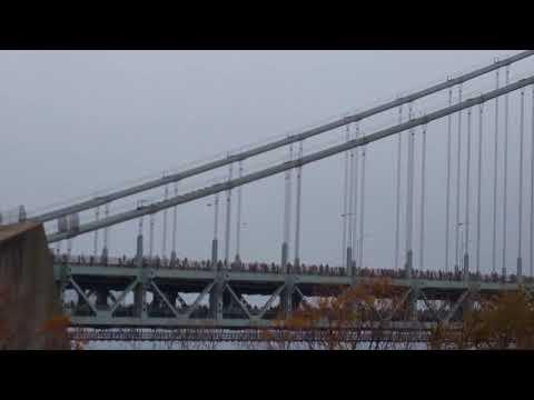 Start of the New York City Marathon