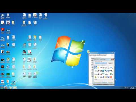 how to change folder icons in Windows 7