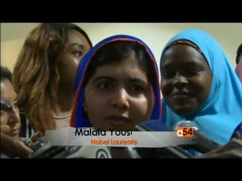 Malala Yousafzai Promotes Better Education System in Nigeria