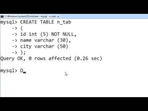 46. NOT NULL in SQL (Hindi)