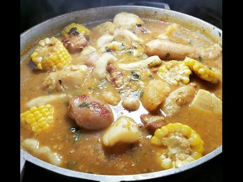 Pigtail Corn Soup | Taste of Trini