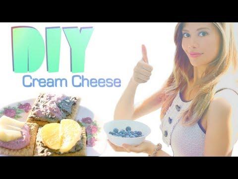DIY Berry Cream Cheese ♡ Raw & Vegan