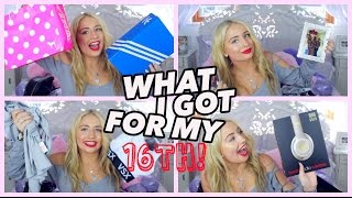 Download WHAT I GOT FOR MY 16TH BIRTHDAY!! Video