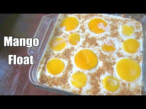 Mango Float Recipe | Pinoy Style