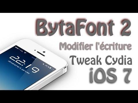 How to Change Font in iOS (JailBreak Needed)