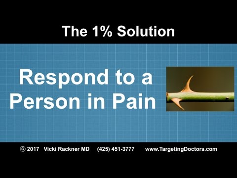 Respond to a Person in Pain