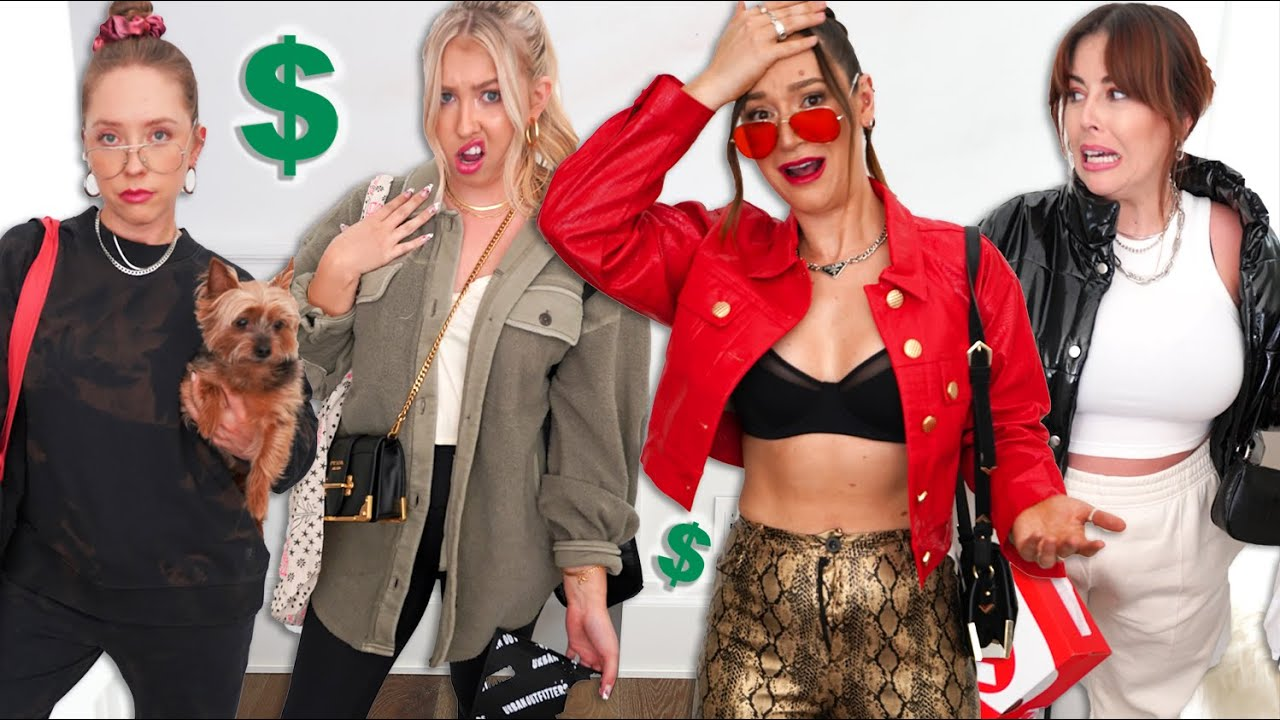 Roommates DRESS UP as Each Other!!  *Shopping Challenge $$