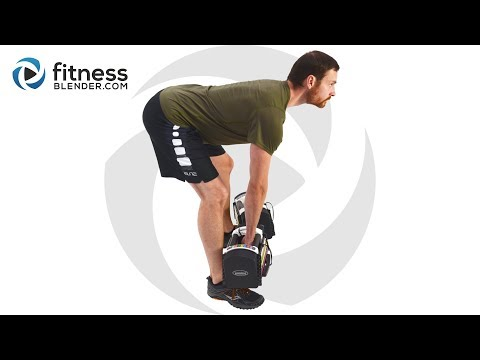 HIIT Cardio and Lower Body Strength Workout with Warm Up and Cool Down