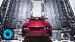 Verrückt: Elon Musk schießt eigenes Auto ins All! - Clixoom Science & Fiction