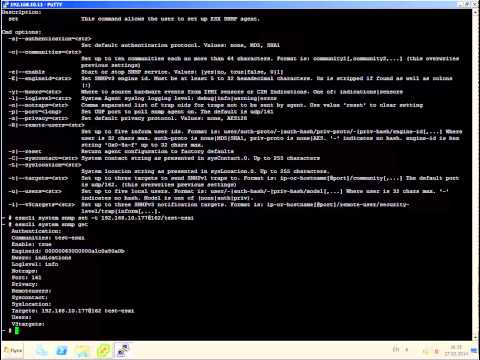 Configure SNMP on VMware ESXi