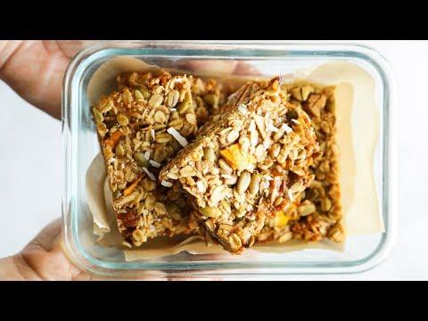 Homemade Tropical Mango Granola Bars