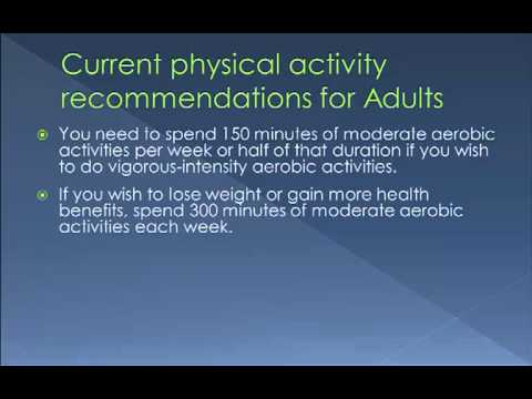 Increasing Physical Activity To Manage Weight And Improve Health
