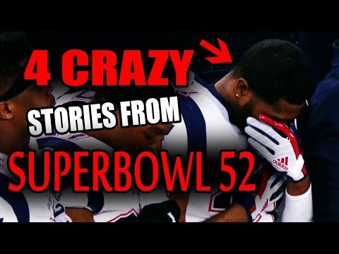 4 CRAZY Stories From Super Bowl 52!!!