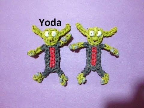 How to Make Yoda on the Rainbow Loom - Original Design