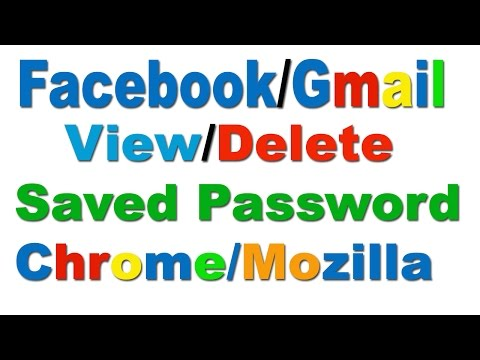 How To View/Delete Saved Password In Chrome/Mozilla In Hindi/Urdu-2016