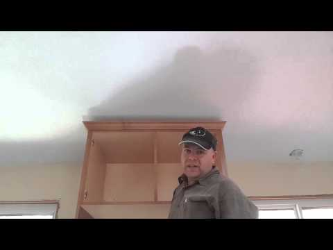 Pro tip to installing cabinet crown molding