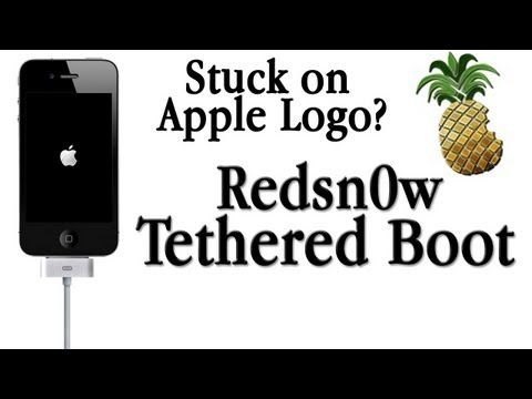 Redsn0w Tethered Boot: Getting out of Apple Logo Loop on 5.0 or 5.0.1